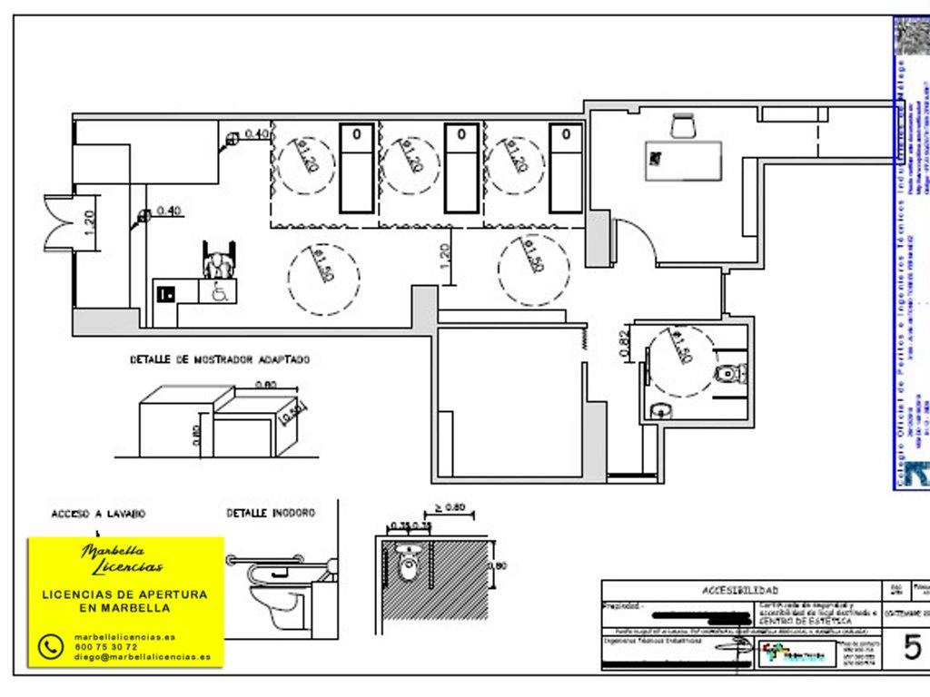 Certificado Licencia Apertura Centro Estetica Marbella 002