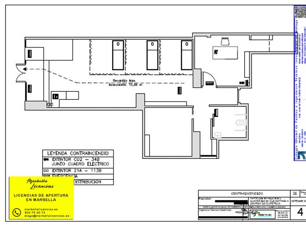 Certificado Licencia Apertura Centro Estetica Marbella 003