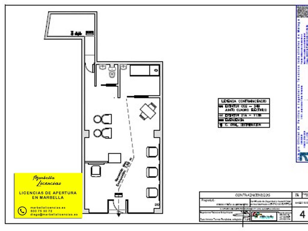Certificado Licencia Apertura Peluqueria Marbella 002