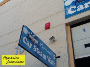Licencia Apertura Lavadero Coches Marbella 001