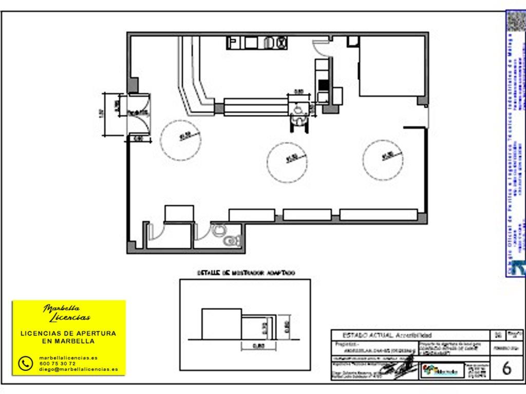 Proyecto Licencia Apertura Carniceria Marbella 003