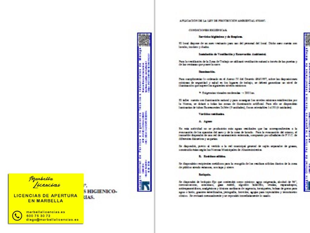 Proyecto Licencia Apertura Lavadero Coches Marbella 002