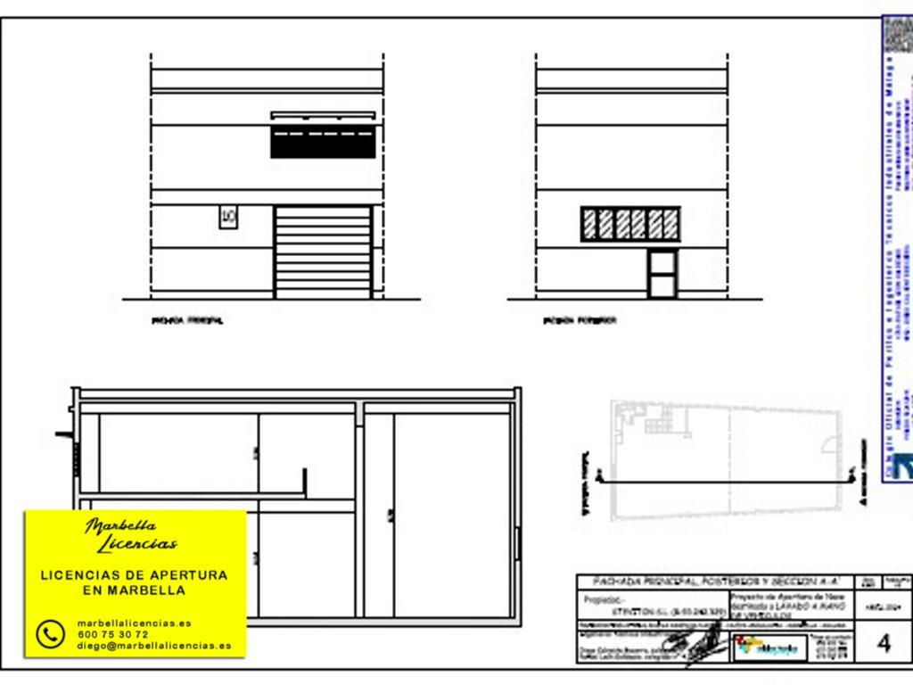 Proyecto Licencia Apertura Lavadero Coches Marbella 003