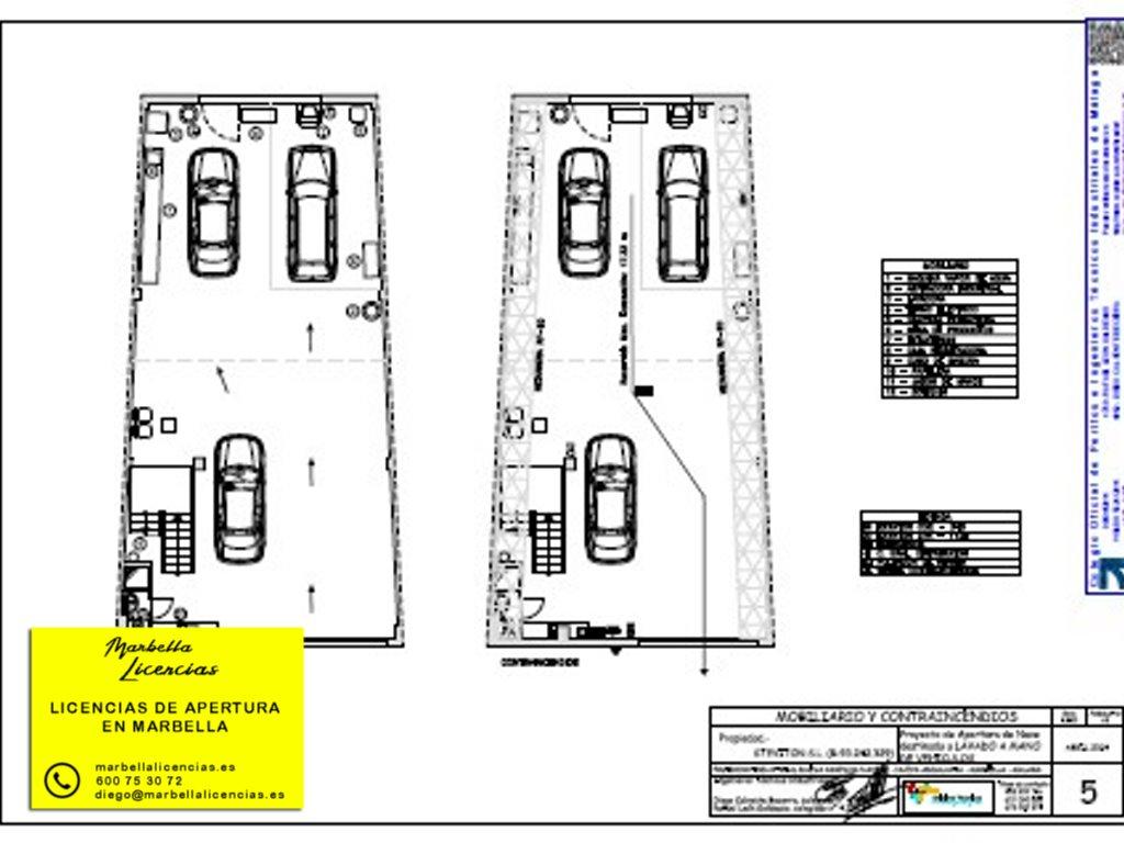 Proyecto Licencia Apertura Lavadero Coches Marbella 004