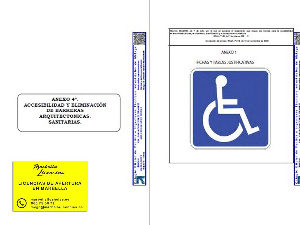 Proyecto Licencia apertura comida para llevar Marbella 002