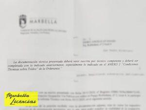 Solicitar instalacion Toldo Marbella 001